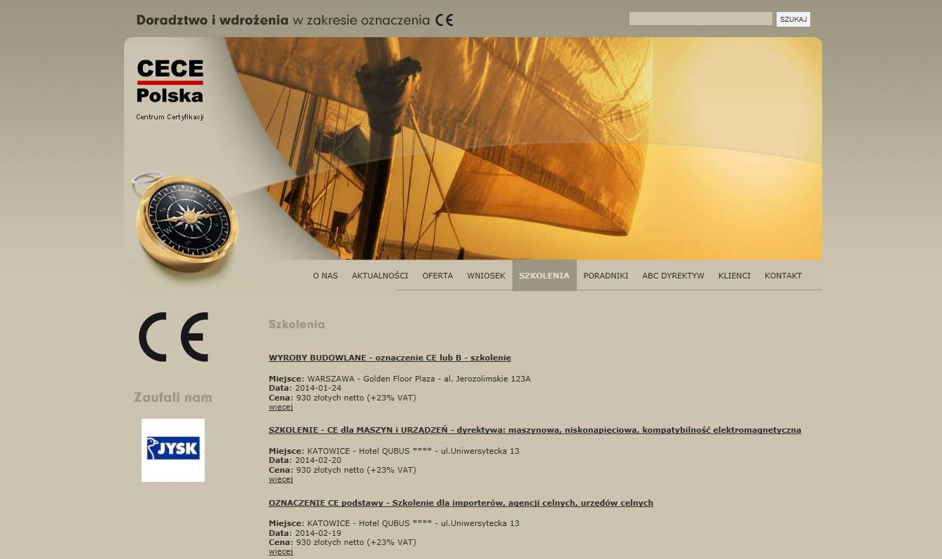 strona na której znajdziesz informacje o znaku CE iszkoleniach CE i szkolenie CPR